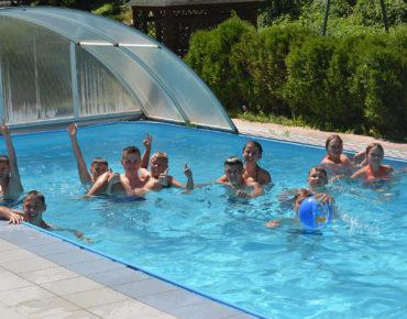 Лагерь Шоколад Карпаты - бассейн