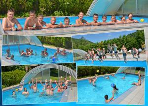 Отдых в лагере Шоколад, бассейн