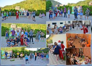 Отдых в лагере Шоколад, Карпаты, Славское